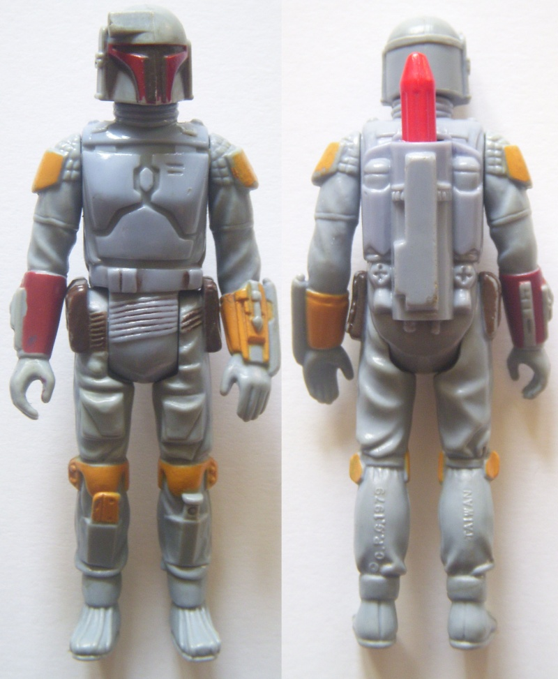 A Gold Death Star Droid, A scarred up Leia! Factory errors and other Curiosities Boba_f12