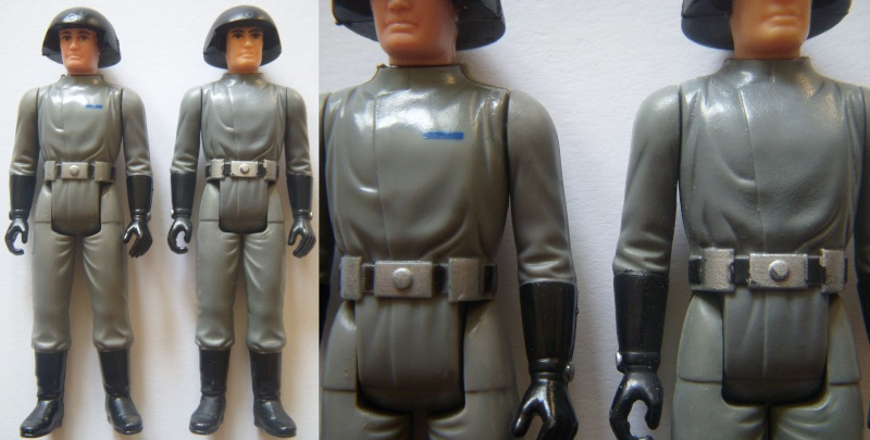 A Gold Death Star Droid, A scarred up Leia! Factory errors and other Curiosities Death_10