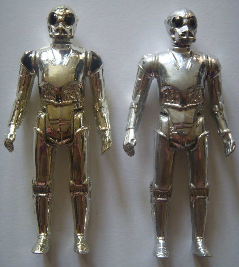 A Gold Death Star Droid, A scarred up Leia! Factory errors and other Curiosities Death_13