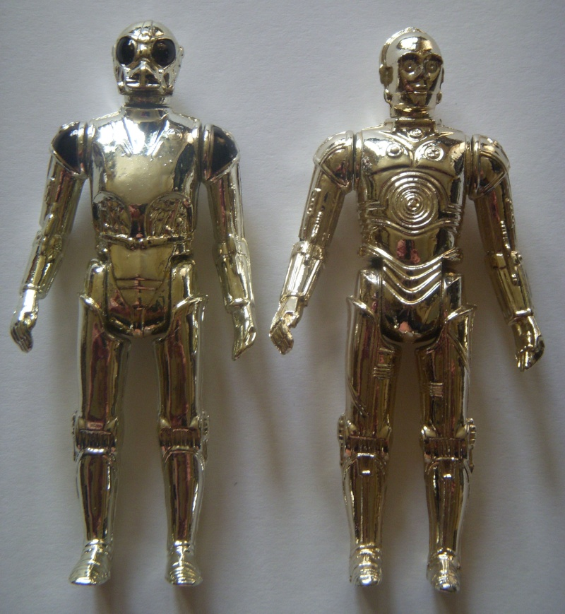 A Gold Death Star Droid, A scarred up Leia! Factory errors and other Curiosities Death_14