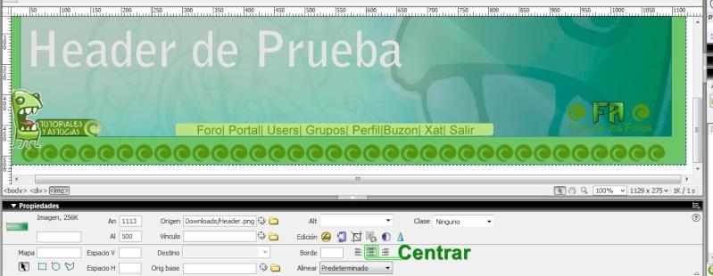 Logo con un menu personalizado dentro ! Centra10