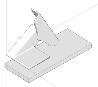 Challenge image d'interieur - BEAR17 - Sketchup Kerkythea Photoshop Constr12