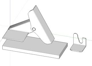 Challenge image d'interieur - BEAR17 - Sketchup Kerkythea Photoshop Constr13