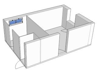Challenge image d'interieur - BEAR17 - Sketchup Kerkythea Photoshop Constr16
