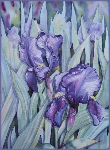 Fleurs aquarelles 05061310