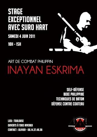 Stage d'Inayan Eskrima avec Suro Emanuel Hart Flyer_12