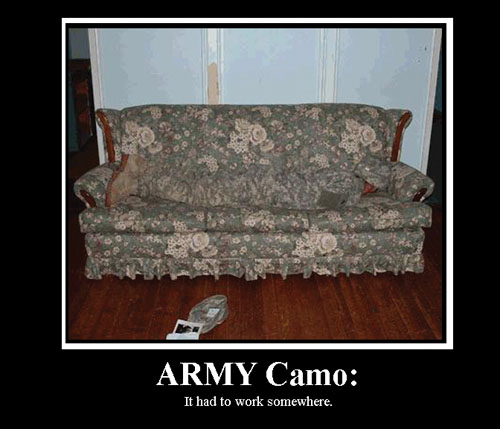 Which Camouflage Do You Prefer? Army-c10