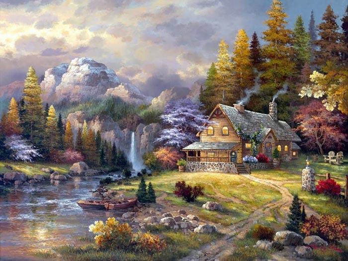 لوحات عن الطبيعة 174
