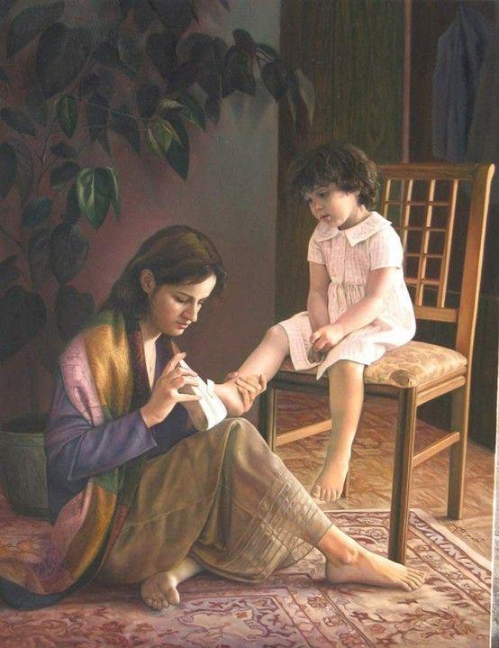 لوحات الأمومة 186