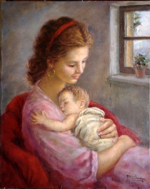 لوحات الأمومة 192