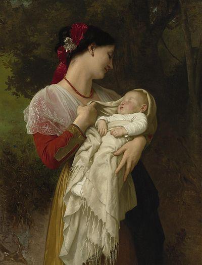 لوحات الأمومة 195
