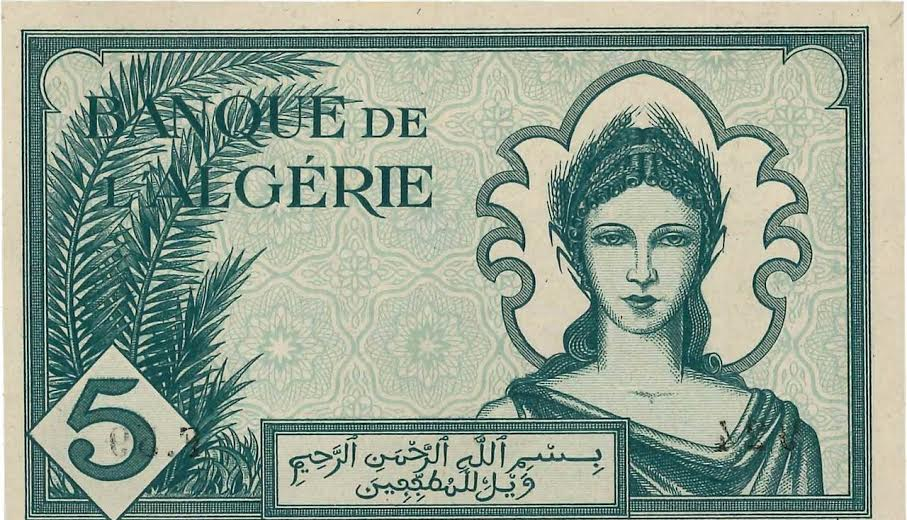 العملة الورقية الجزائرية في عهد الإستعمار الفرنسي 78-16110