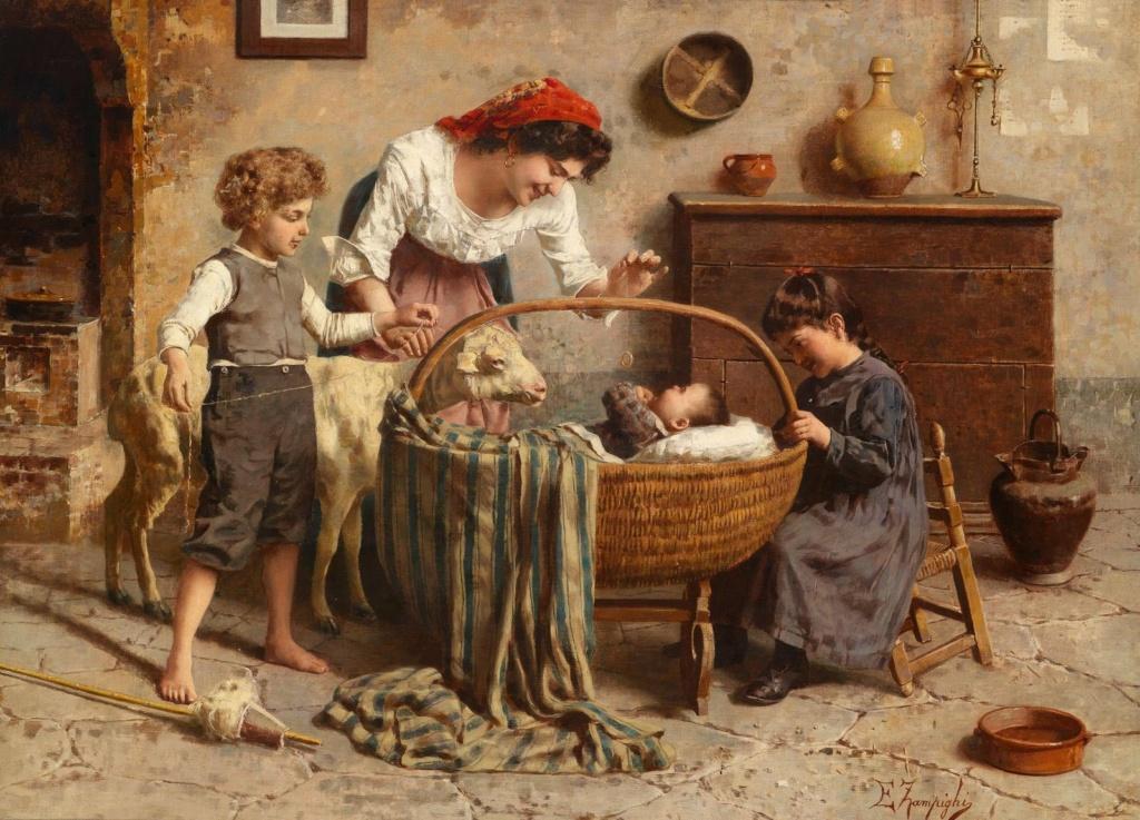 لوحات الأمومة Di_56610