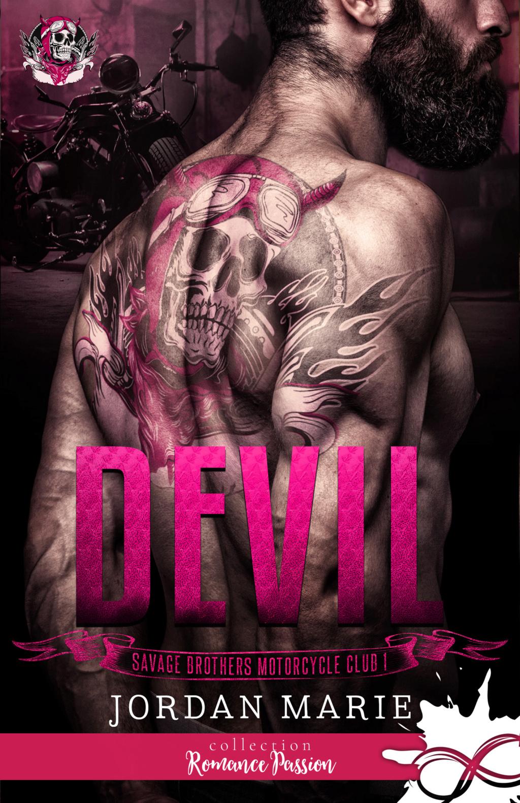 Savage Brothers Motorcycle Club - Tome 1 : Devil de Jordan Marie C16d2510