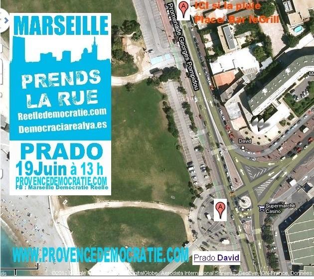 19 Juin 2011 - MARSEILLE PRADO DAVID  A 13 H + compte rendu AG 19juin14