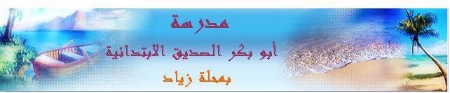 أبو بكر الصديق الابتدائية بمحلة زياد