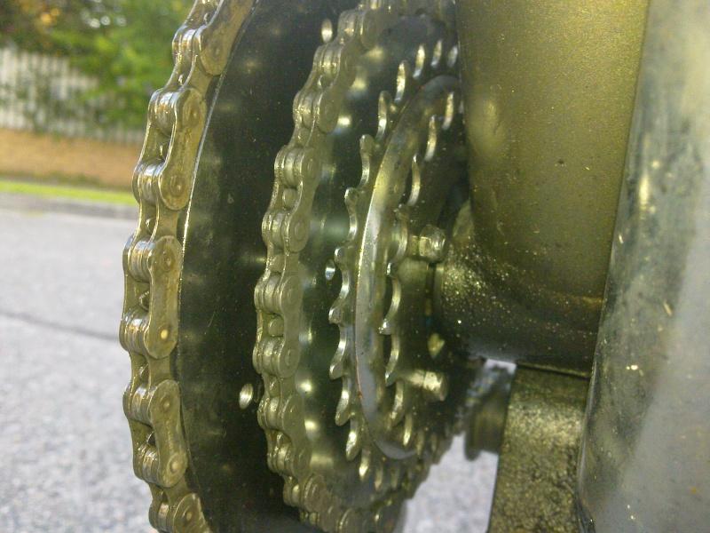 Tetra Chainwheel system for SickBikeparts (Sick Bike Parts, SBP) shift kit 14022010