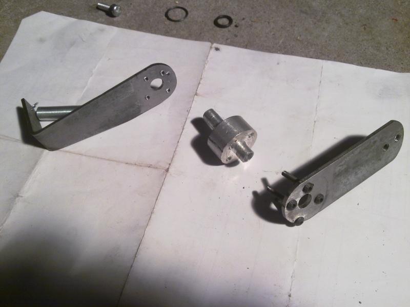 Chain Tensioner for 2-stroke engine and SickBikeParts (SBP, Sick Bikeparts) shift kit 28022022