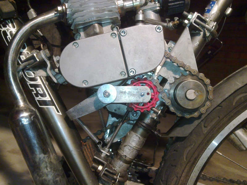 Chain Tensioner for 2-stroke engine and SickBikeParts (SBP, Sick Bikeparts) shift kit 28022025