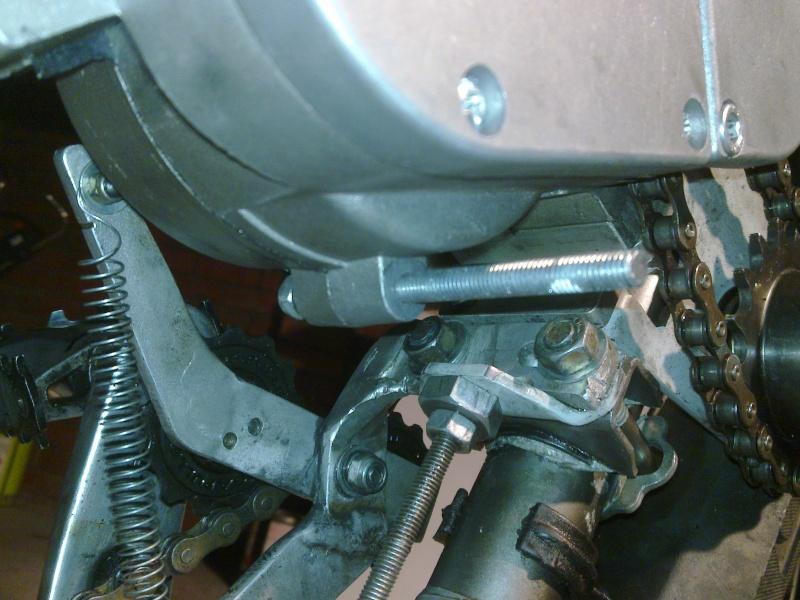 Chain Tensioner for 2-stroke engine and SickBikeParts (SBP, Sick Bikeparts) shift kit 28022030
