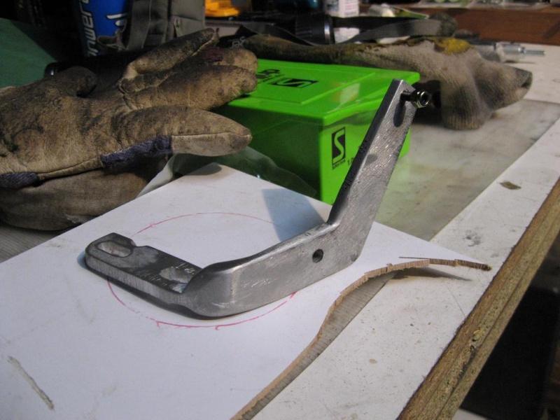 Chain tensioner for chainwheel side of SickBikeParts (Sick Bike Parts SBP) shift kit Sbp_ch12