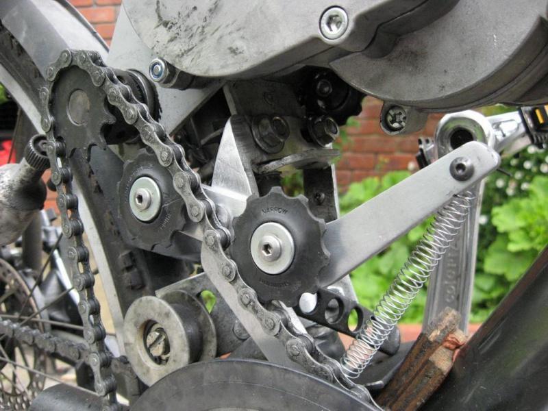 Chain tensioner for chainwheel side of SickBikeParts (Sick Bike Parts SBP) shift kit Sbp_ch18