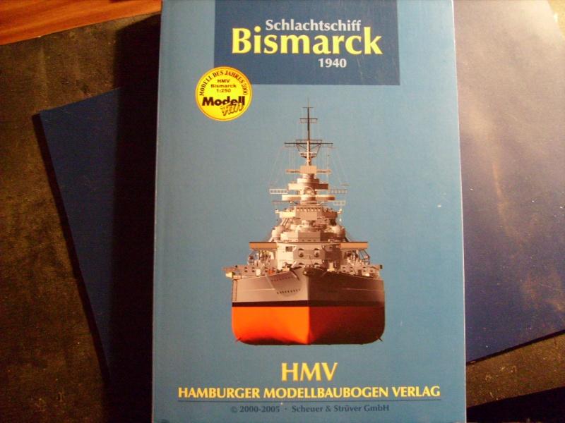 HMV Bismarck 2.Auflage 1:250 S7301610