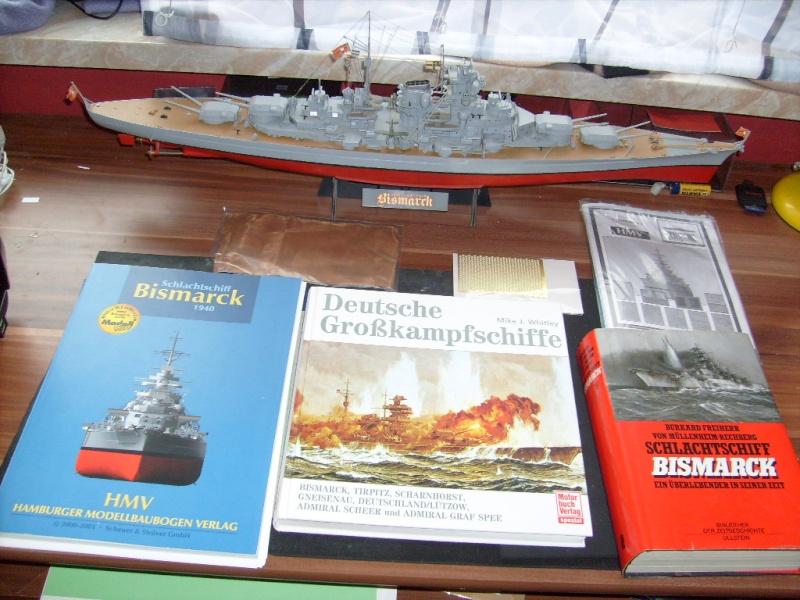 HMV Bismarck 2.Auflage 1:250 S7301825