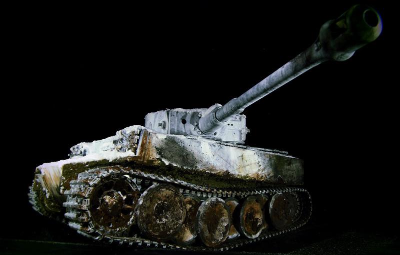 Tiger 1 early version Winter camo  0021210
