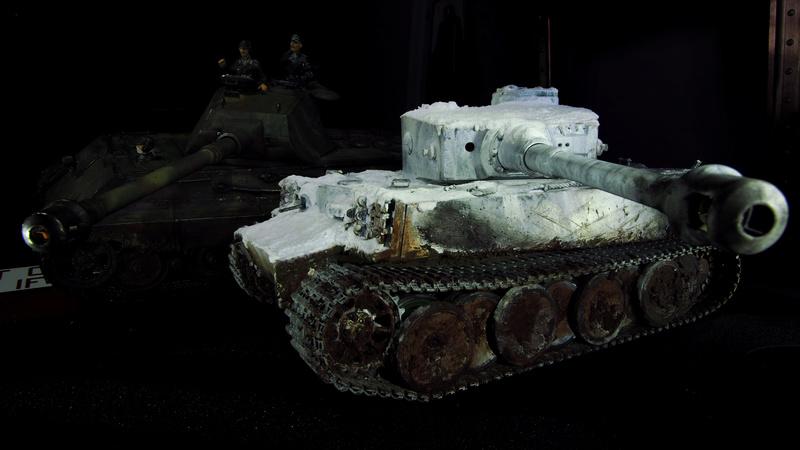 Tiger 1 early version Winter camo  0051110