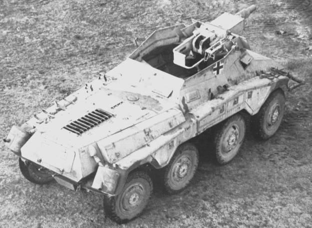 Puma Sd.Kfz. 234/2 Metal Origin 1:16 WIP 71021e10