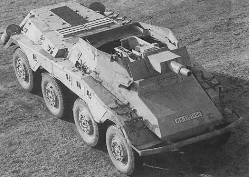 Puma Sd.Kfz. 234/2 Metal Origin 1:16 WIP Ad932810