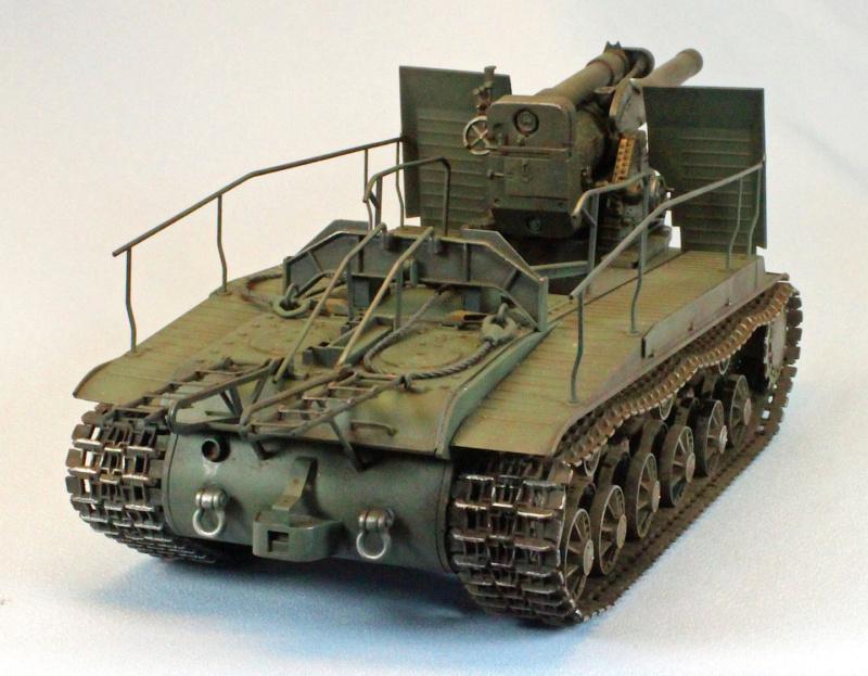 Soviet tank S -51 Rear_q10