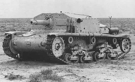 Carro armato italiano M40/75-18 Semove10