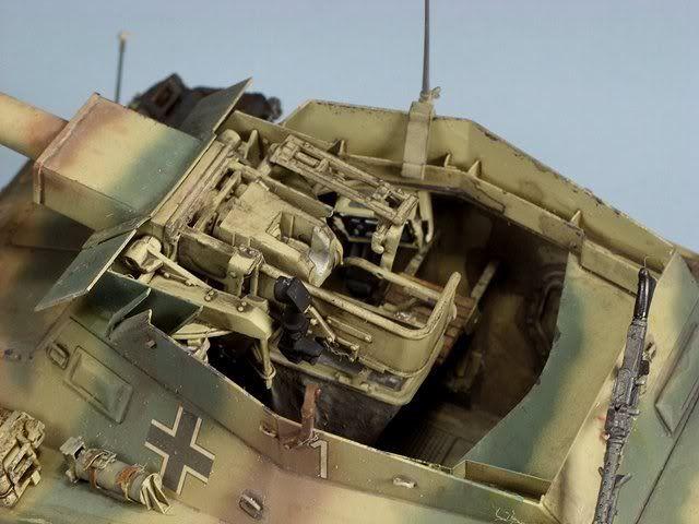 Puma Sd.Kfz. 234/2 Metal Origin 1:16 WIP Sn850010