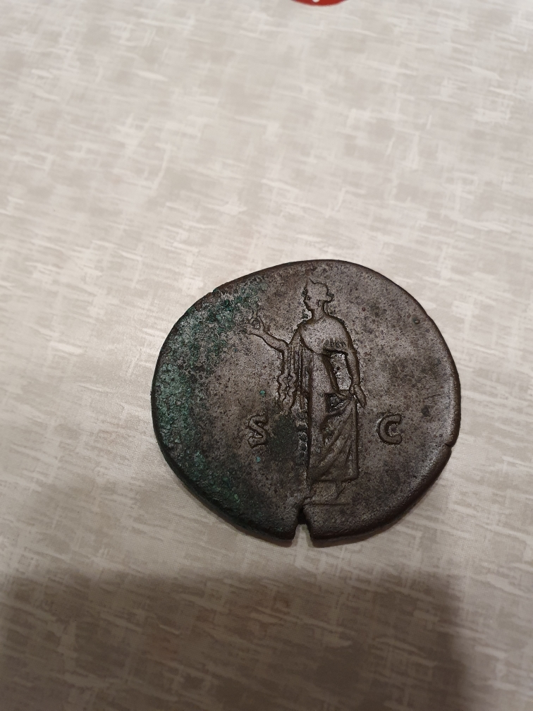 Sesterce d'Antonin le pieux Resize35