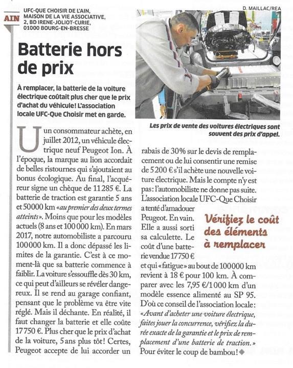 Les voitures électriques  46098910
