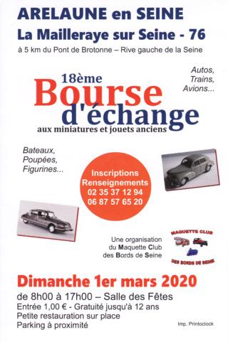 18ème Bourse d'échange aux miniatures et jouets anciens Affich13