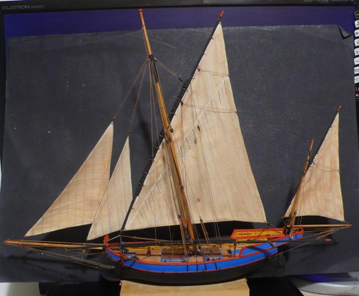 modelli dal libro Vele della costa occidentale  ENRICO PILANI - Pagina 6 Finita10