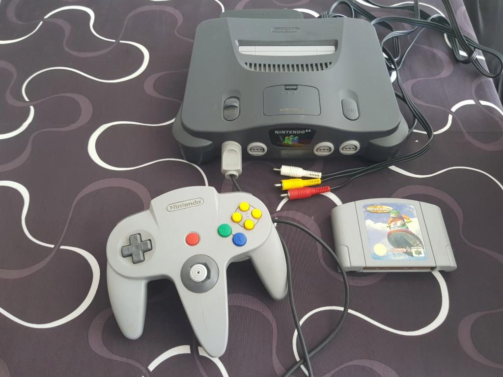 [Vds] Console N64+ wave race 20180613