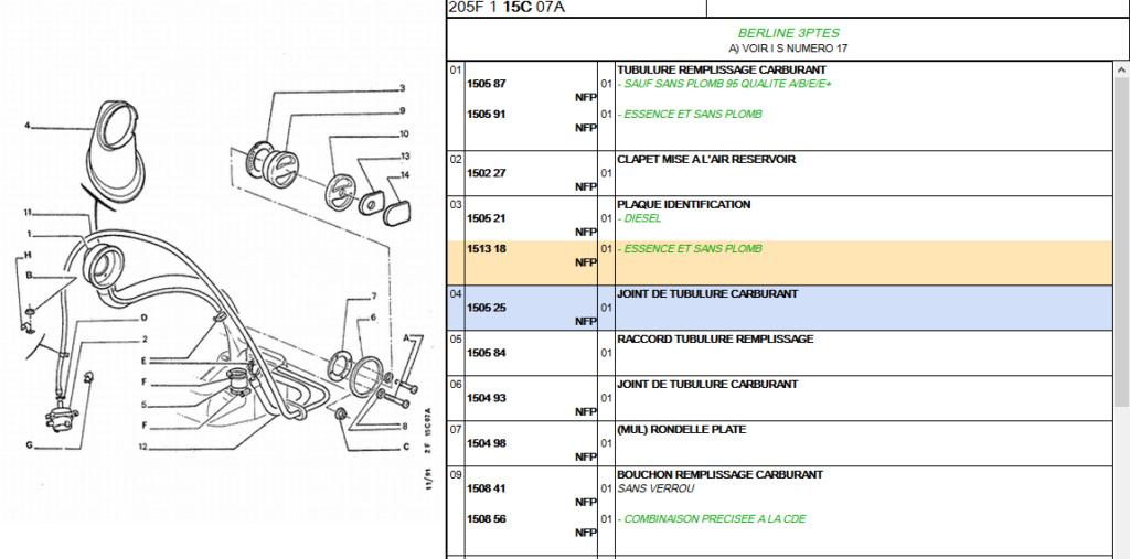 plaque d'identification carburant Screen10