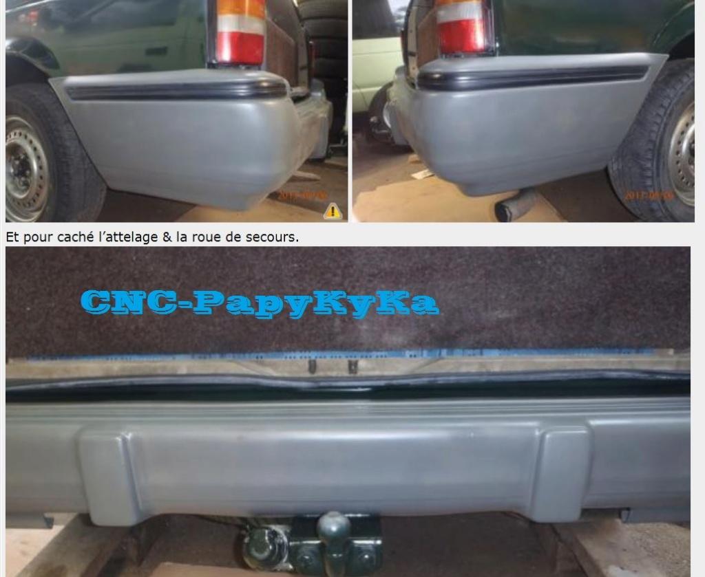 Chrysler Voyager S2 2,5 TD 1995 Parchocs avant et arrière Captu253