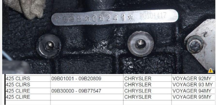 Recherche- Boîte de vitesses Chrysler  Captu653