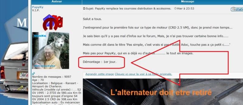 PapyKy remplace les courroies distribution & accésoires. Captur49