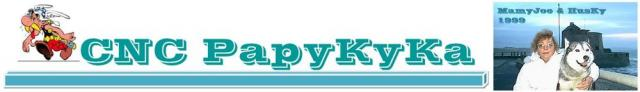 PapyKy a trouver le porte clef Chrysler. Cnc-p679