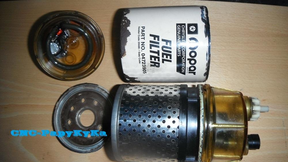 PapyKy a démonter un filtre a carburant diesel S2 Dscf1811