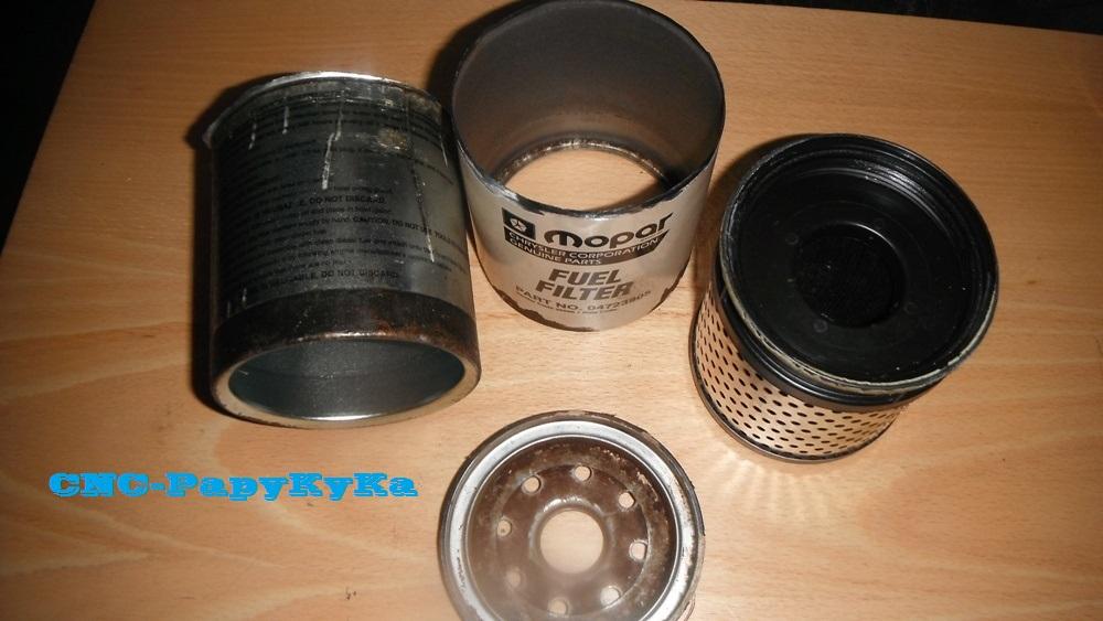 PapyKy a démonter un filtre a carburant diesel S2 Dscf1812