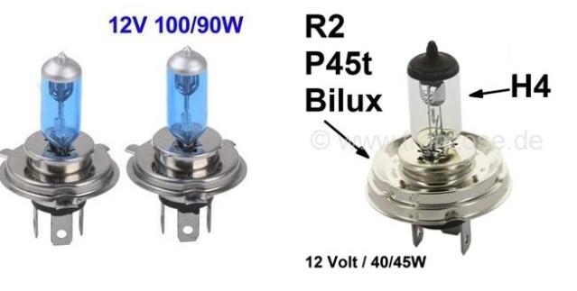 Intensité électrique phares H410