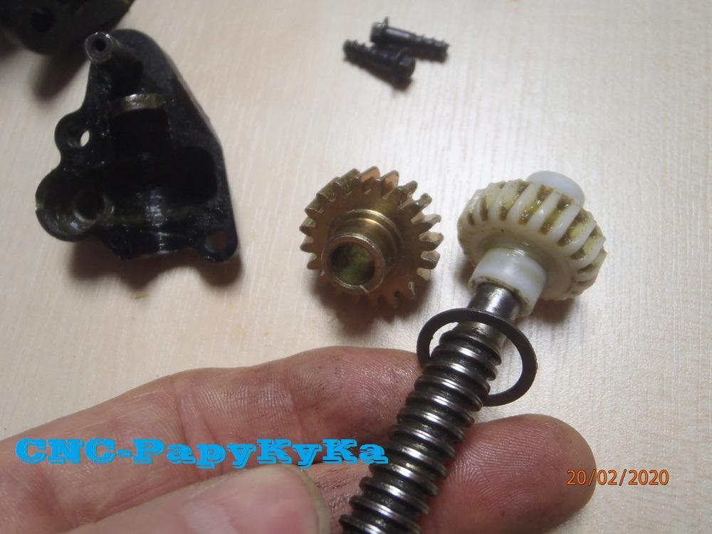 PapyKy, Répare le motoreducteur de siège électrique S4. P2201313