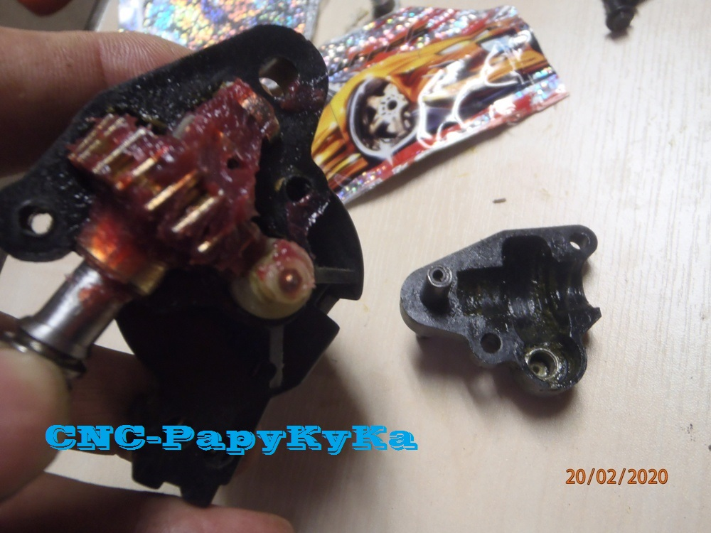 PapyKy, Répare le motoreducteur de siège électrique S4. P2201331